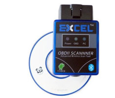 Bluetooth Wireless OBD2 Reader ELM327 Mini